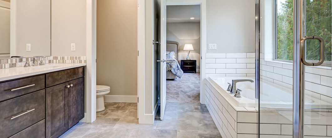 A remodeled bathroom in Laurel, MS